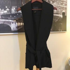 Tops - Tie Waist Vest